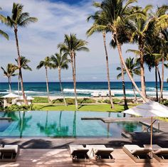 Daily Daydream! Best part about going on a #beach #getaway? Waking up with a view like this one at Four Seasons Resort Hualalai at Historic Ka'upulehu  Find more of America's best coastal hotels.