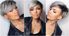 These Ladies Have Chosen A Trendy Grey Hair Style! Short Grey Hair, Short Hair Cuts, Short Hair Styles, Short Haircuts Over 50, Great Hair, Hair Dos, Trendy Hairstyles, Hair Trends, New Hair