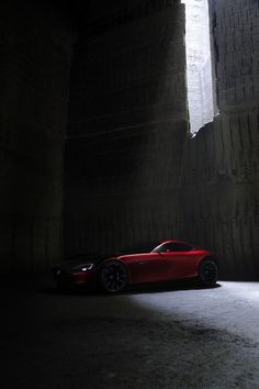 """Mazda RX-VISION powered by SKYACTIV-R was unveiled at The 44th Tokyo Motor Show 2015 Press conference: The """"RX"""" has come back. Photo via CarWatch (http://car.watch.impress.co.jp/docs/event_repo/2015tokyo/20151028_727763.html) #MAZDA"""