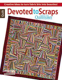 Best of Quiltmaker: Devoted to Scraps is a dynamite book full of wonderful scrap quilt patterns. You'll love every one!
