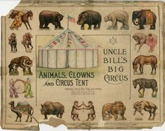 86.3058: Uncle Bill's Big Circus | play set | Play Sets | Toys | Online Collections | The Strong