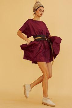 SHORT BOAT DRESS