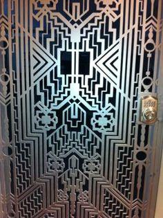 Art Deco Iron Door. by melisa