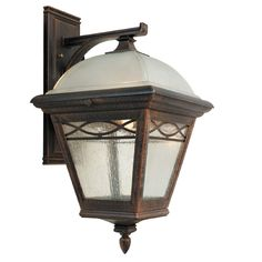 Special Lite Products Brentwood Medium Top Mount-Closed Bottom Light