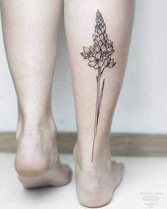 Ornithogalum Tattoo by Anna Botyk