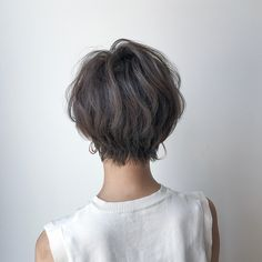 Pin on ヘアースタイル Mommy Hairstyles, Short Hairstyles For Women, Hairstyles Haircuts, Cool Hairstyles, Medium Hair Styles, Curly Hair Styles, Japanese Short Hair, Shot Hair Styles, French Twist Hair