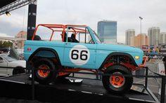 1966 Ford Bronco gulf colours @ SEMA 2012
