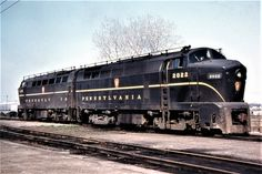PRR Baldwin Shark at Detriot, Michigan, Brett Lawler Collection Electric Locomotive, Diesel Locomotive, Pennsylvania Railroad, Covered Wagon, Train Engines, Abandoned, Shark, Michigan, Aircraft