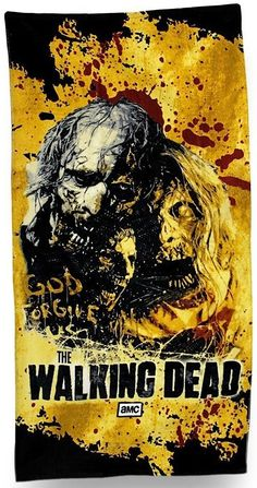 The Walking Dead Beach Towel :: Houseware :: Weird Stuff :: House of Mysterious Secrets - Specializing in Horror Merchandise & Collectibles The Walking Dead 2, Dead Zombie, Stuff And Thangs, Beach Towel, The Secret, Scary, Mystery, Weird, Horror