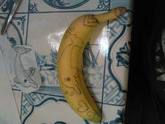 Banaan tattoo , puntopdracht