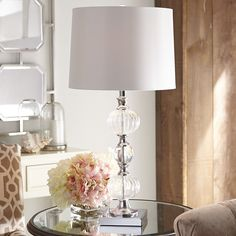 Clear Glass Table Lamp. Clear Glass LampsPier 1 ...