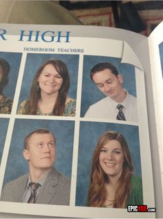 Too funny my teacher friends please do this! Teacher yearbook Win!