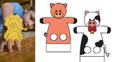 16 patrons gratuits pour fabriquer des marionnettes à doigts!