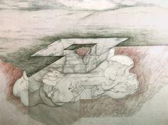 Ideal House by RaimundABRAHAM, c. 1985.