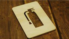 emoticon door sign 이모티콘 도어 싸인 - 소화기
