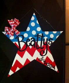 Summer Door Hanger from Sassy Sawdust and a painting party for a girl's night of fun!
