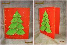 Znalezione obrazy dla zapytania karty świąteczne choinka