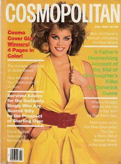 Cosmopolitan magazine,JULY 1984 Model: Tomilyn Richardson Photographer: Francesco Scavullo