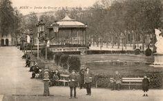 Agen, jardin du gravier 1920
