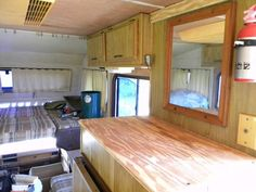 How To Repair Or Remodel Old Camper Trailer And Motorhome RV Interiors