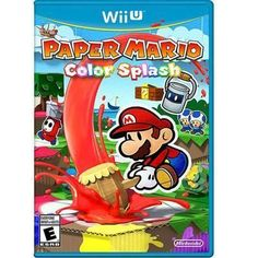 Nintendo - Paper Mario Color Splash Wii U