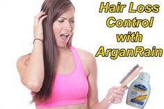 Hairloss Control with Arganrain.. #hair #loss #hairloss #stop #stophair…