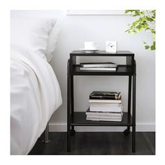 IKEA SETSKOG Bedside Table 45x35CM Black | Bedroom | Urban Sales
