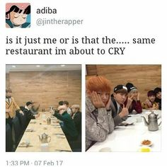 There's another one with the same pose. Like BANGTAN ain't just a group. It's family. And I'm so happy to be a part of this amazing fandom