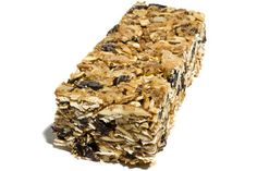 Mmm. dried cherries, oats, almonds and walnuts? I think it's time to make my own power bars.