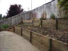 landscaping retaining walls design pictures | ... Landscape, Eureka Arcata Fortuna McKinleyville Landscaping Service
