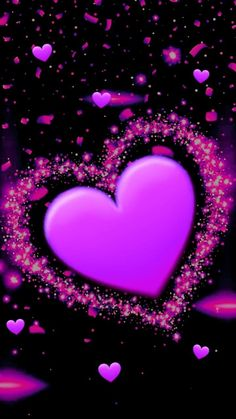 30 Ideas Lock Screen Iphone Love Heart For 2019 Cute Wallpaper For Phone, Purple Wallpaper, Heart Wallpaper, Love Wallpaper, Cellphone Wallpaper, Wallpaper Backgrounds, Iphone Wallpaper, Heart Pictures, Love Pictures