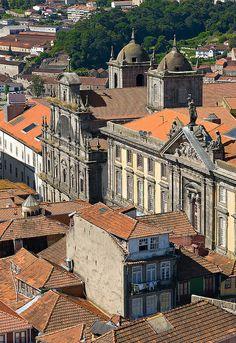 Convent São Bento da Vitória, old #Oporto, facing the Douro River #Portugal - www.webook.pt