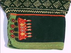 Costume and Embroidery of Setesdal, East Agder, Norway, part 2 men Folk Costume, Costumes, Folk Clothing, Types Of Jackets, Fair Isle Knitting, Green Wool, Samara, Buttonholes, Knitting Projects