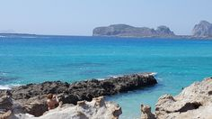 Falassarna, Crete (Greece) - view to archeological site of Old Falasarna #trivo