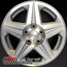 """Chevy Monte Carlo wheels for sale 2000-2001. 16"""" Machined Silver rims 5115 - http://www.rtwwheels.com/store/shop/16-chevy-monte-carlo-wheels-for-sale-machined-silver-5115/"""