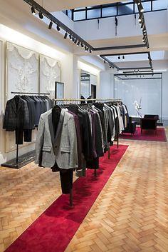 Retail Design | Fashion Display | Store Design | McQueen Saville Row London