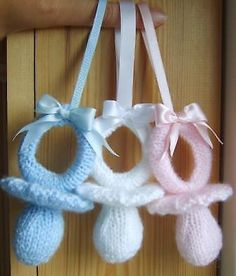 Knitting Pattern - Toy - Pram - Dummy - Soother - Charms - Double Knit - KBP-061
