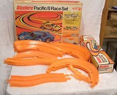 1968 Hot Wheels Sizzlers track