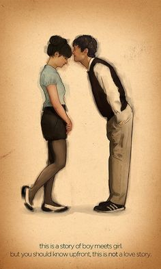 500 days of summer, love love love this moive! It has to be in my top ten for sure!!!! <3