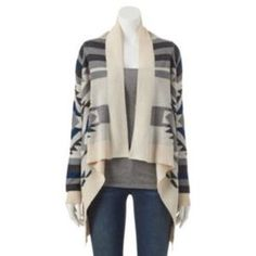 Get a $5 credit when you join posh mark with code: GNZBV. I just added this to my closet on Poshmark: Aztec Cardigan. Price: $25 Size: L