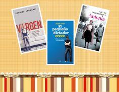 Tenemos a puntito, la publicación de un nuevo sorteo de libros en nuestro Facebook.https://www.facebook.com/esferadeloslibros?ref=hl Con vistas al día de la madre en mayo, regalaremos estos de la foto. ¡Atent@s! y difundid todo lo posible.