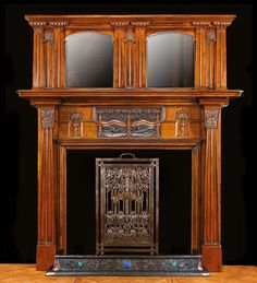 Art deco and fireplaces on pinterest fireplace mantels art deco