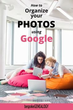 How to Organize your Photos using Google. Old images can be a big part of your family history. Here's how to use Google Photos to organize and share them. Free Genealogy Sites, Genealogy Forms, Genealogy Research, Family Genealogy, Genealogy Organization, Organizing Tips, History Images, Old Images, Family History