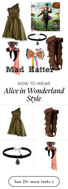 """""""Mad Hatter inspired"""" by holly-hills on Polyvore featuring MSGM, Disney and…"""