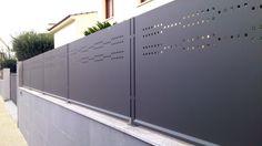 """Résultat de recherche d'images pour """"valla metalica jardin"""""""