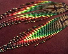 Maui Swan Designs Copper Glow Long size 11 Seed por MauiSwanDesigns