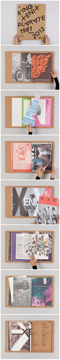 Xenix Theatre Book 23 December 2014 Xenix is an alternative cinema in Zurich, Switzerland. Each month, the theater sends out its monothematic program in the form of a poster to its members. Each poster is a carte blanche, a do-whatever-you-want license, for the designer.