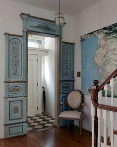 Olatz Schnabel's gorgeous, beautiful, wonderfully eclectic SoHo home. images viaThe New York Times,