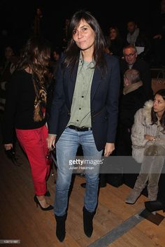 Emmanuelle Alt attends the Barbara Bui Ready to Wear Autumn/Winter 2011/2012 show during Paris Fashion Week at Pavillon Concorde on March 3, 2011 in Paris, France.