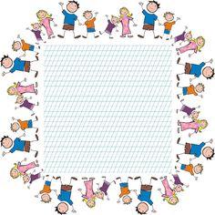 Liniatura tip 1 - Patrat cu copii 8th Grade English, First Grade, School Projects, Classroom, Teaching, 1st Grades, Kindergarten, Class Room, First Class